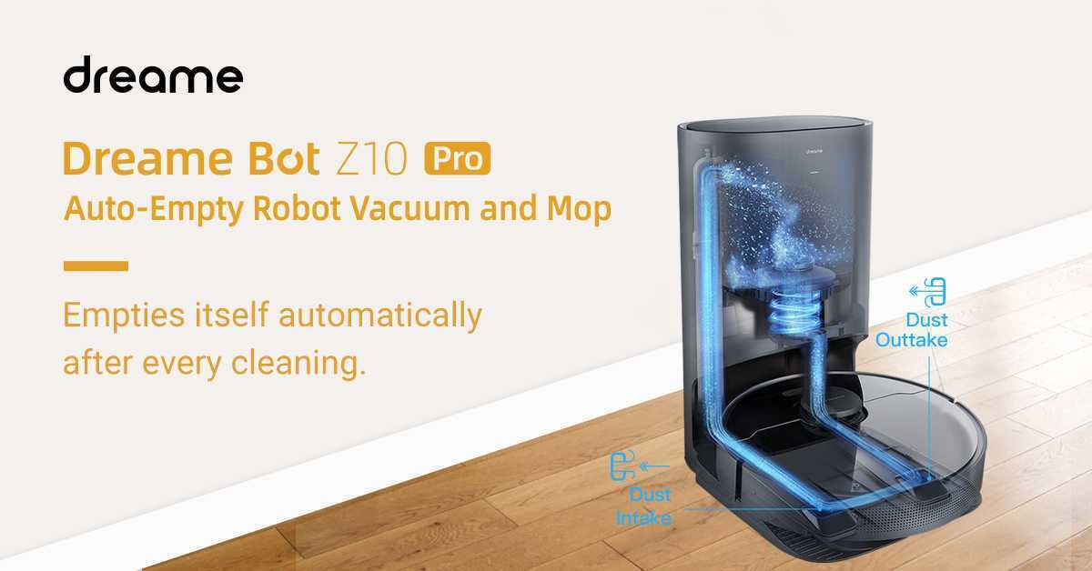 Dreame Bot Z10 Pro Automatic Cleaning Base