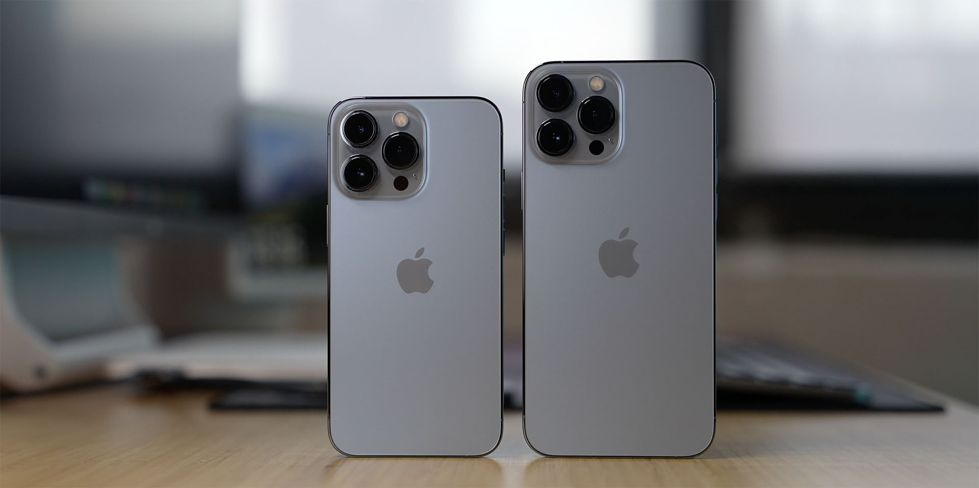 iPhones on the table