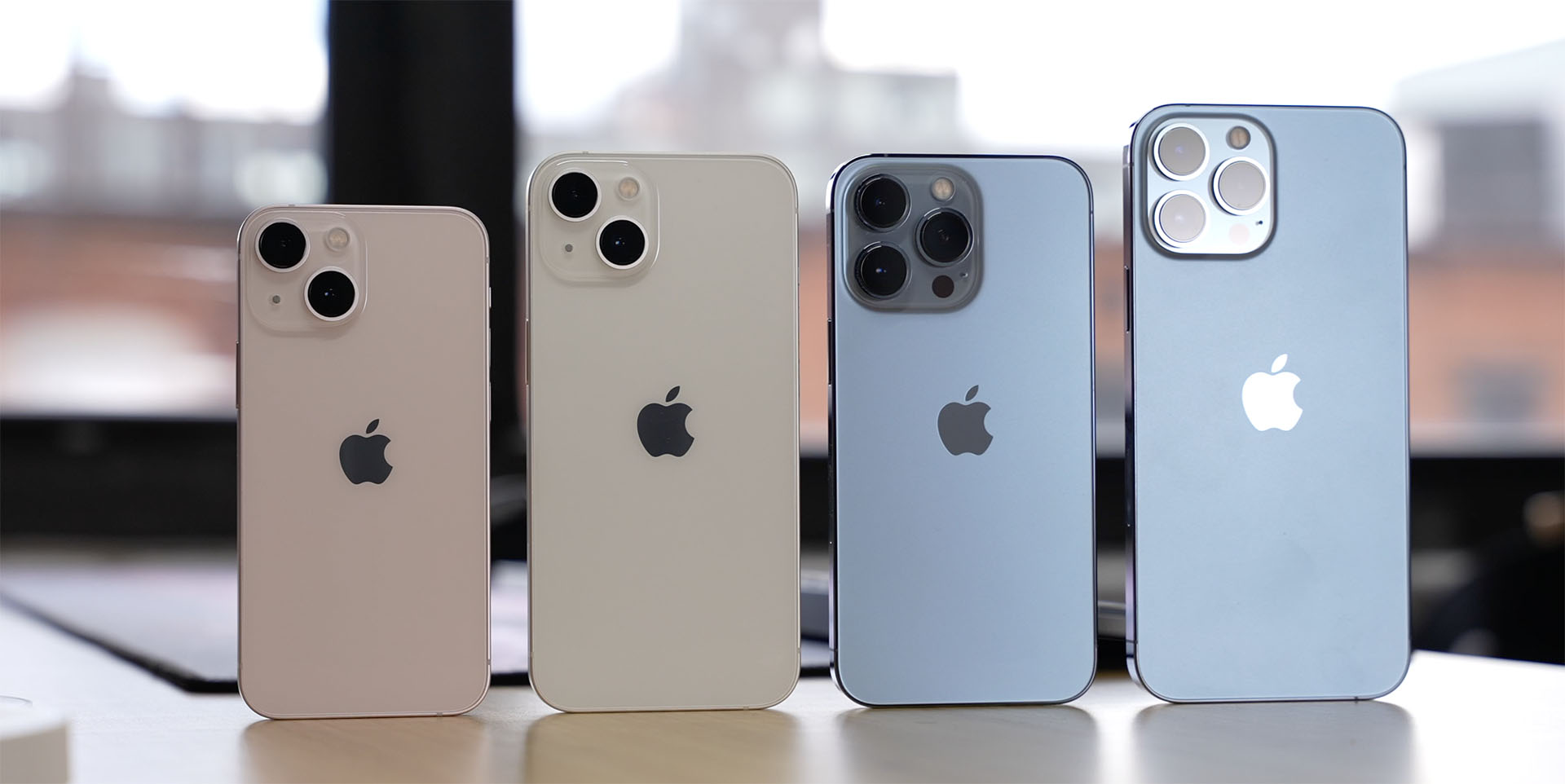 iPhone 13 line-up