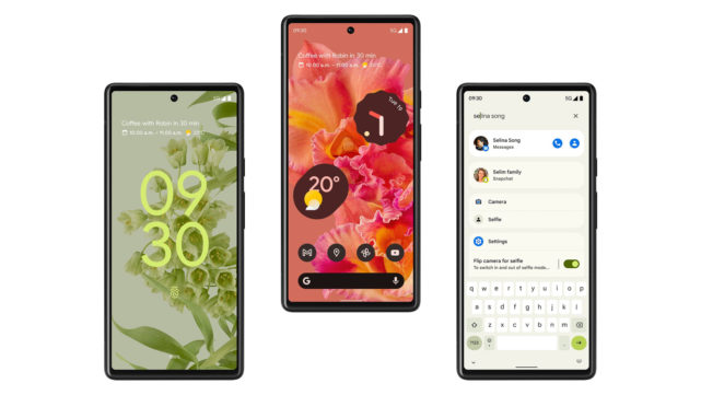 google pixel 6 official renders stand 2