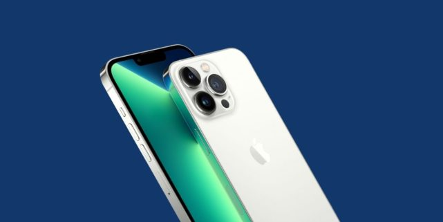 iPhone 13 Pro Silver Color
