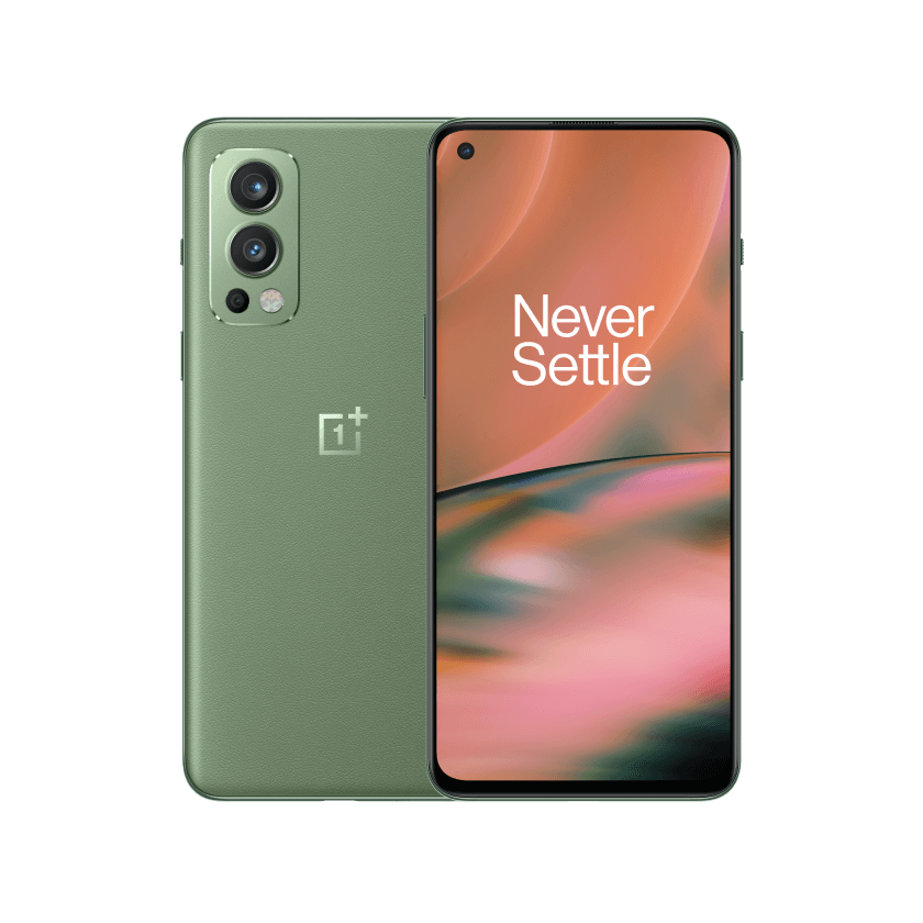 OnePlus Nord 2 5G official Green Woods