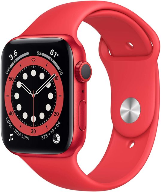 Apple Watch Series 6 red color way